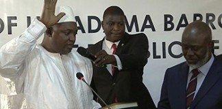 Gambia President Inauguration
