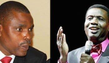 Jim Obazee and Pastor Adeboye
