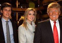 Kushner, Ivanka and Trump.