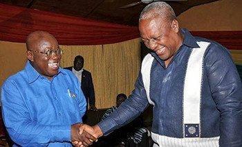 Nana Akufo-Addo and John Mahama