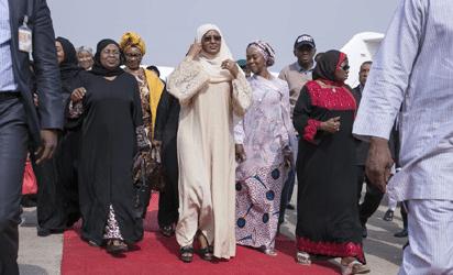 Aisha Buhari After lesser Hajj