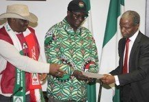 Osinbajo and labour leaders