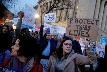 US Transgender activists
