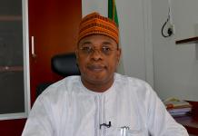 Dr. Paul Adalikwu, Ag. NTDC DG