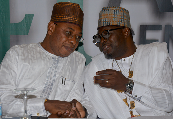 Dr. Paul Adalikwu and NANTA President