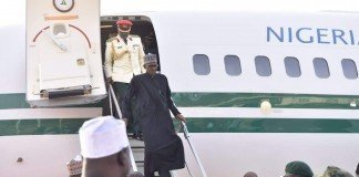 Buhari visiting dapchi
