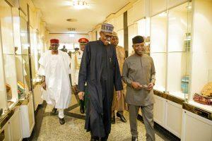 Buhari back from medical trip