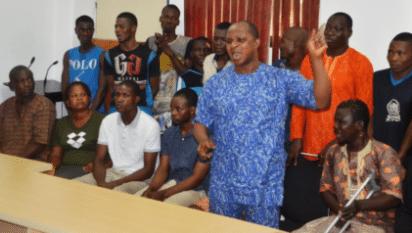 Ile Ife crisis suspects on parade