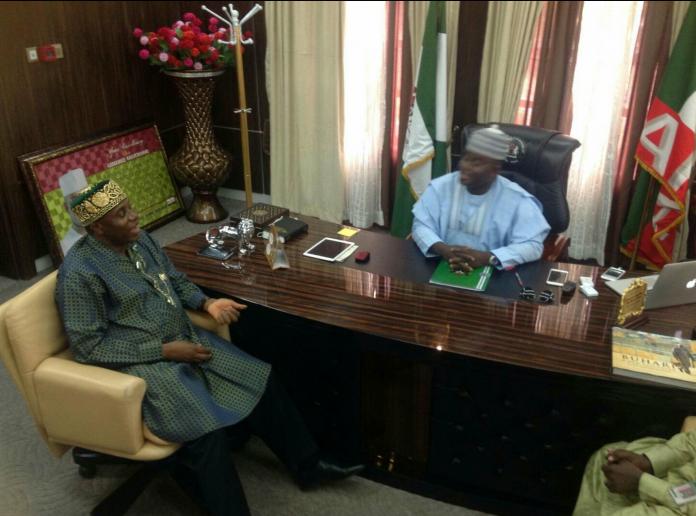 Rotimi Amaechi and Governor Yahaya Bello