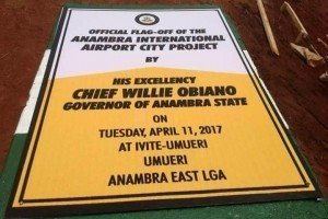 Anambra International Airport City Project