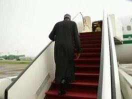 Buhari-travelling