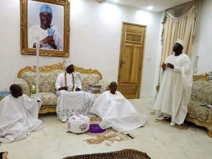 Aare Onakakanfo with Ooni of Ife