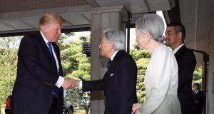 Donald Trump Japanese Emperor
