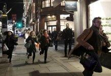 London Shot Fire Oxford Street