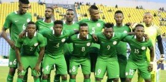 Super Eagles CHAN 2018 morocco