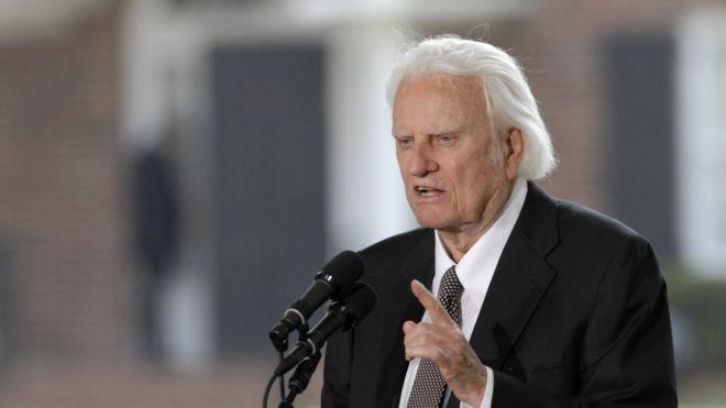 Billy Graham last journey to North Carolina