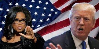 Donald Trump with Oprah Winfrey