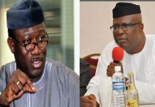 Kayode fayemi and Ojudu Ekiti Election