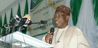 Lai Mohammed inaugurates board on Nigerian Flavours