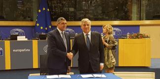 UNWTO Secretary General with European Parliament President