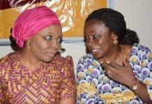 Dolapo Osinbajo with Funebi Otu Umondak