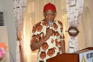 Friday Anumba representing Folorunsho Coker