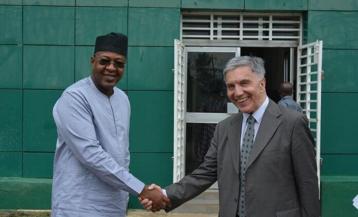 Folorunsho Coker with UNWTO representative
