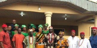 Sally Mbanefo at Ogba Ukwu festival