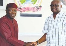 Kayode Fayemi and Ayo Fayose