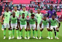 Super Eagles Team