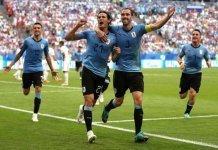 World Cup Uruguay vs Russia