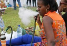 Shisha smokers in dangers