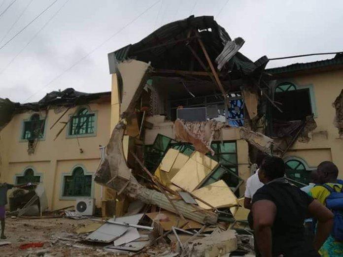 Ayefele Music House Demolition