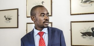 Zimbabwe's MDC opposition leader Nelson Chamisa