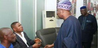 Yinka Ayefele with Abiola Aimobi