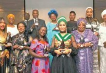 Sally Mbanefo Bags Award