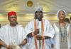 Ooni Adeyeye Enitan Ogunwusi, Willie Obiano and Yeyeluwa Shilekunola