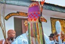 Ooni of Ife, Oba Adeyeye Ogunwusi with Ade Aare