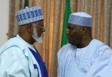 Abdulasalami Abubakar and Atiku Abubakar