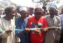 Senator Buhari Commissioning projects