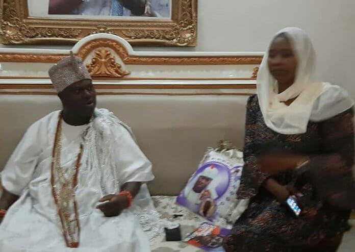 Ooni of life with NATOP National President