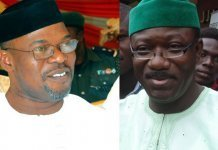 Segun Oni and Kayode Fayemi