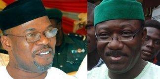 Segun Oni and Kayode Fayemi