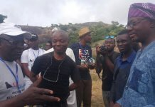 hike Ekiti mountains