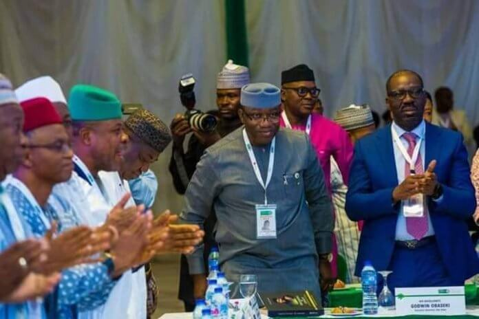 Kayode Fayemi and Governors Forum