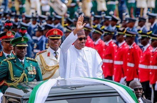 President Muhammadu Buhari's Democracy Day speech.
