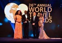 Host - Jo-Ann Strauss, General Bitrus Vandos Kwaji, Owner, The Envoy, Dewald Kruger, General Manager, The Envoy Abuja