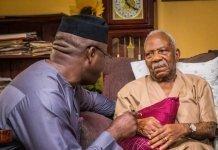 Fayemi condoling with Pa Fasoranti