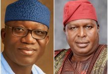 Kayode Fayemi and Olusegun Runsewe
