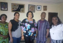 Ojo-Lanre with Theatre Arts and Motion Pictures Producers Association of Nigeria